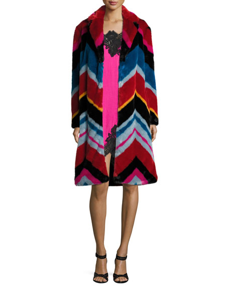 Roth Faux-Fur Collared Coat