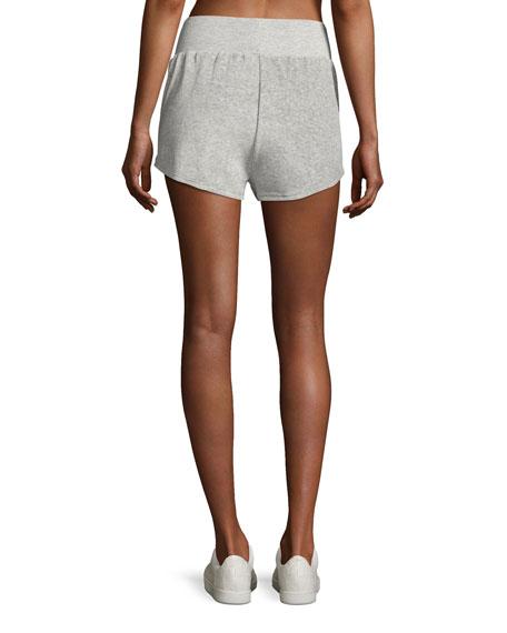 Ultra Plush Sport Shorts, Silver