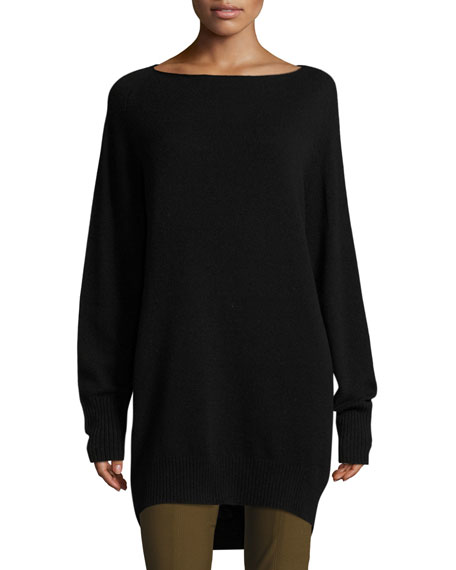 Boatneck Sweater Dress