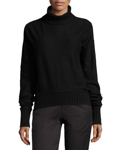 Long-Sleeve Turtleneck Pullover Sweater