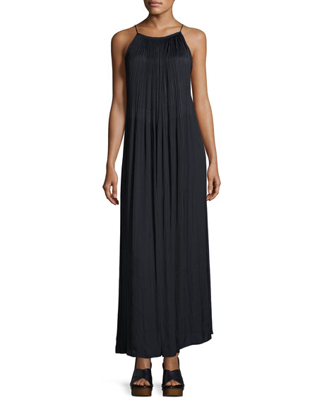 Orra Sleeveless Pleated Maxi Dress