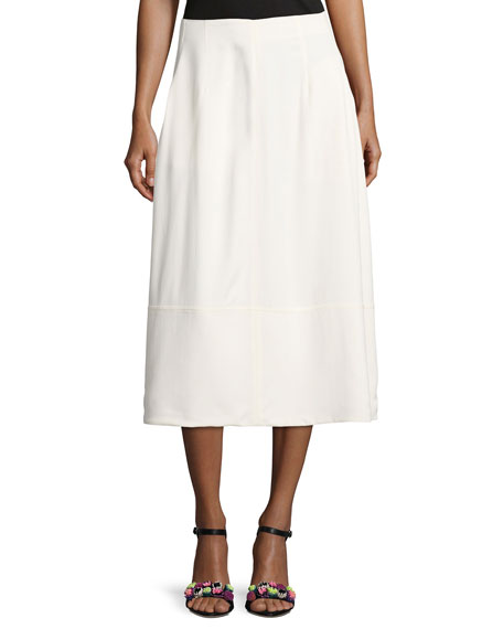Elizabeth and James Lottie A-Line Midi Skirt