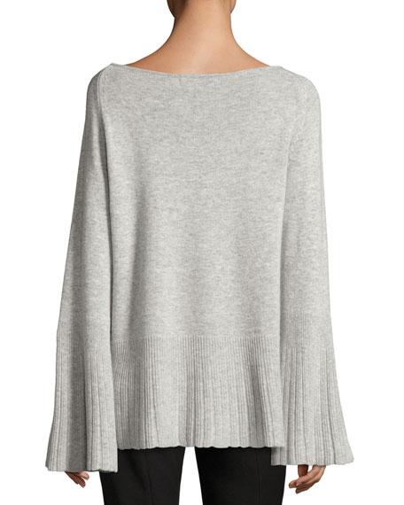 Rhett Classic Boat-Neck Cashmere Sweater