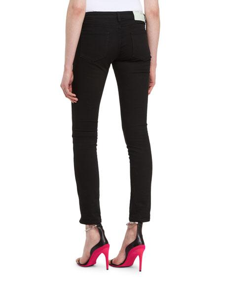 Side-Stripe Skinny Pants
