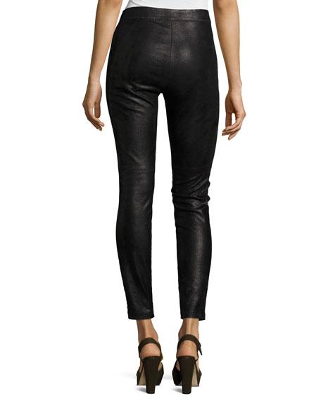 Roxanna Leather Skinny Pants
