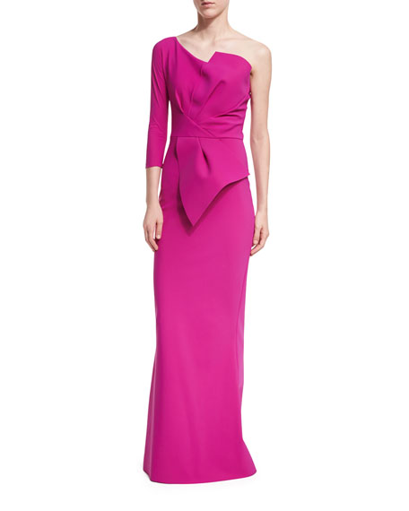 Chiara Boni La Petite Robe Anemone One-Shoulder Mermaid