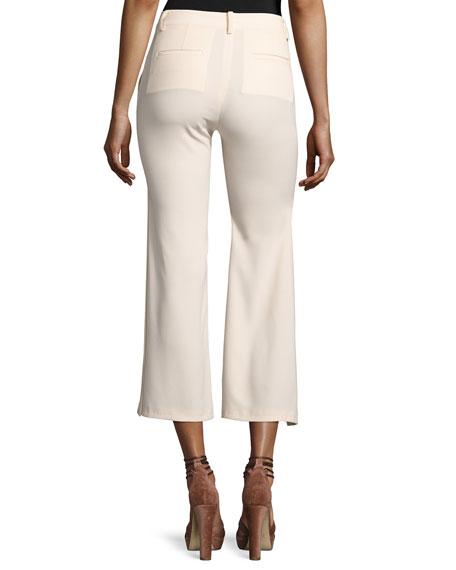 Audrey Side-Slit Flared Pants