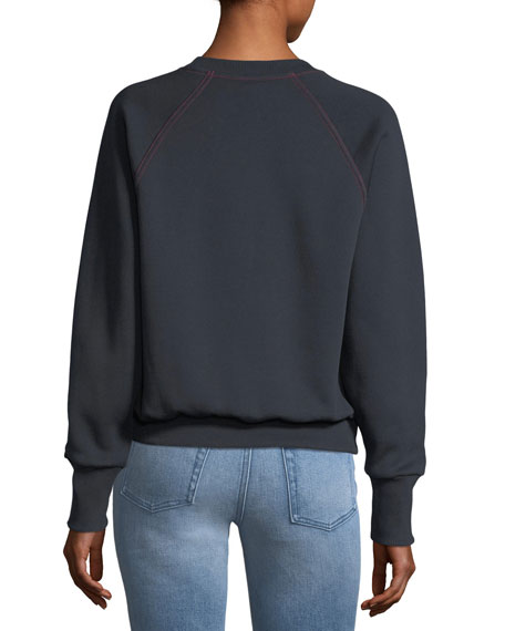 Torto Burberry London Sweatshirt, Navy