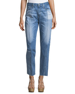The Phoebe High-Rise Tapered Leg Jeans