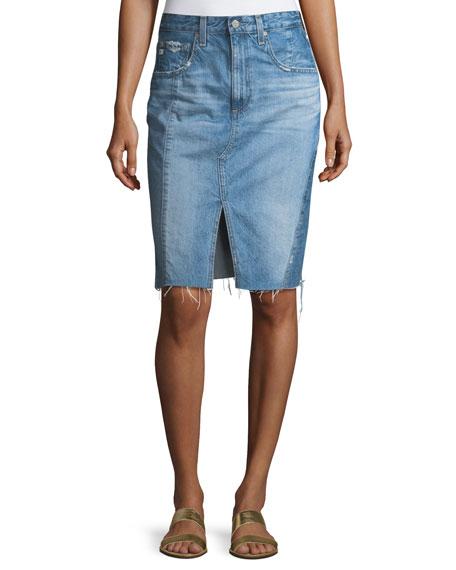 8321df2061 AG The Emery High-Waist Midi Skirt