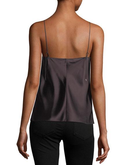 Cicely V-Neck Silk Camisole Top