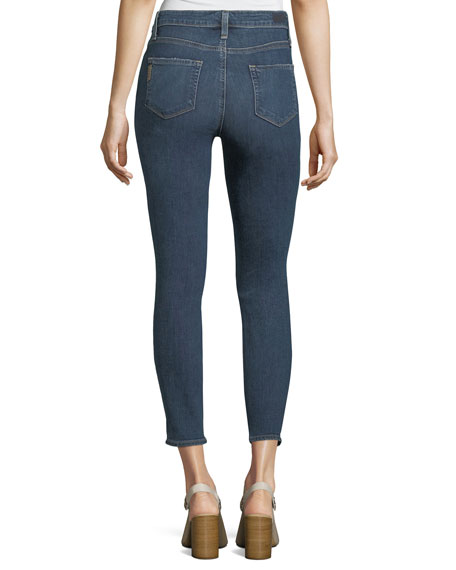 Hoxton Mid-Rise Crop Skinny Jeans