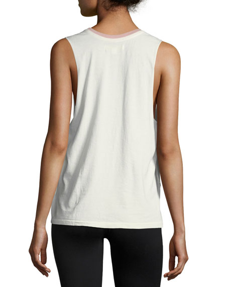 Mystic Palms Rocker Cotton Tank