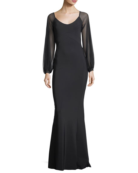 Chiara Boni La Petite Robe Marlo Scoop-Neck Illusion