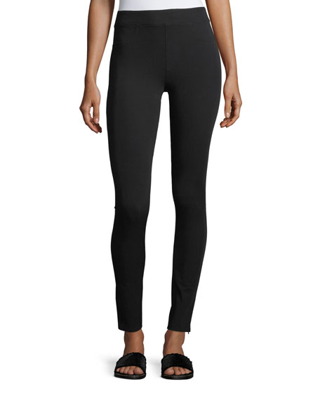 Reflex Mid-Rise Zip-Cuffs Leggings