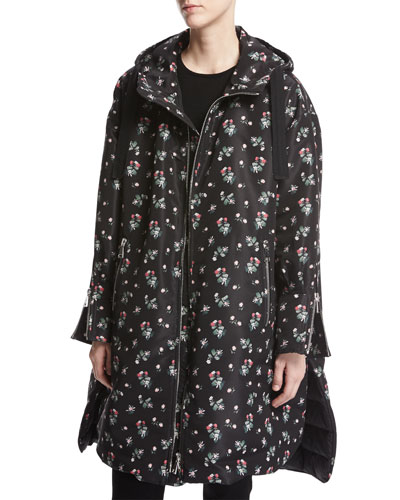 Leucothoe Floral-Print Jacket