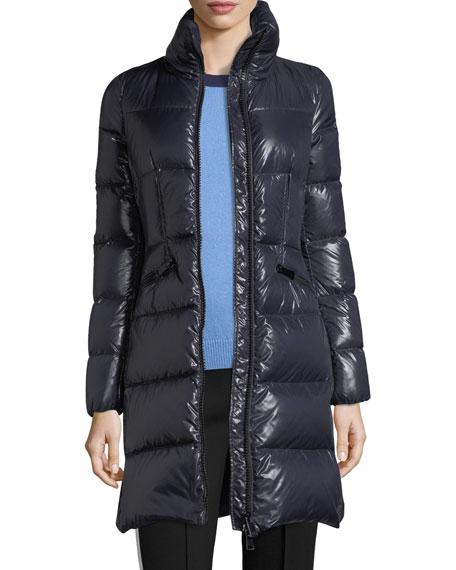 Jasminum Quilted Puffer Coat