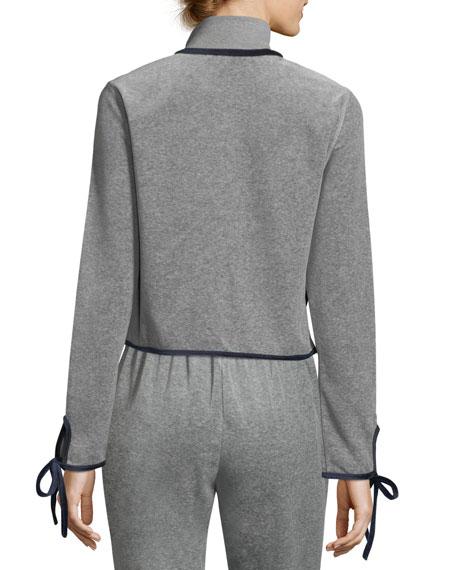 Torch Tie-Cuff Track Jacket