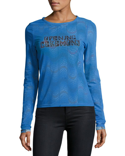 Double-Layer Long-Sleeve Tee