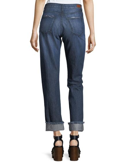 Josie Straight-Leg Denim Jeans