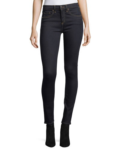 Brooke Mid-Rise Skinny Jeans