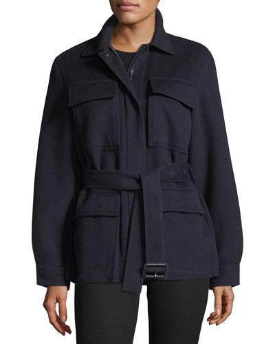 Riga Wool Military Jacket