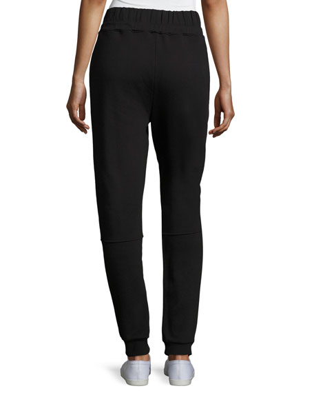 Lucia Side-Stripe Jogger Pants