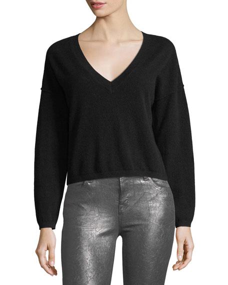 Josey Deep-V Cashmere Sweater