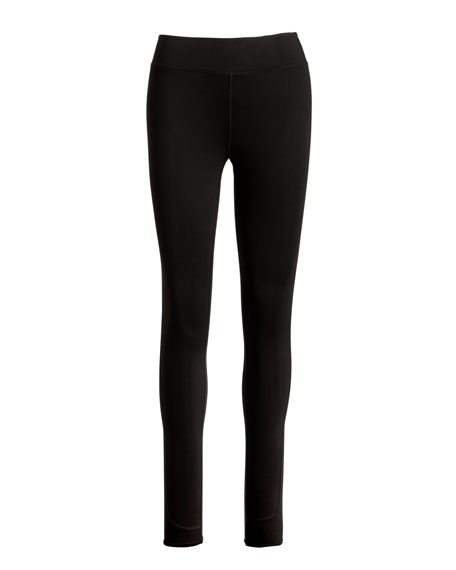 Essential High-Rise Performance Leggings, Black