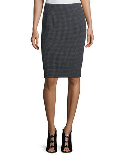 Please Me Knit Pencil Skirt