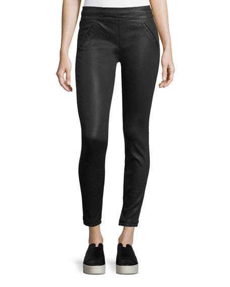 Sonia Coated Ankle Leggings