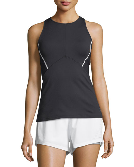 Under Armour Mirror Cross-Back Fitted Performance Tank Top