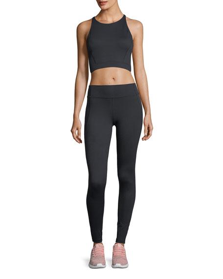 Mirror High-Waist Full-Length Performance Leggings