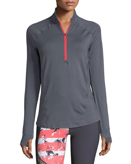 Run True Half-Zip Long-Sleeve Performance Jacket