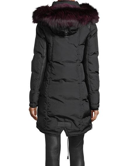 Chelsea Fur-Lined Parka