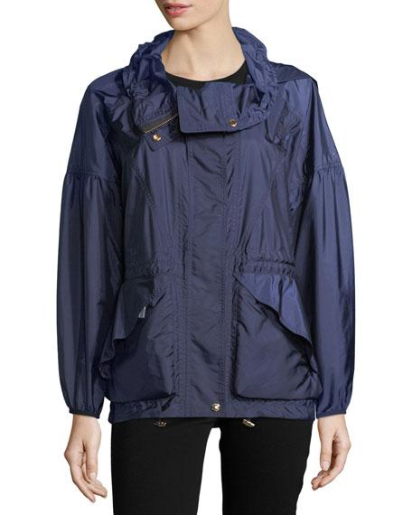 Norchard Oversized Rain Bomber Jacket