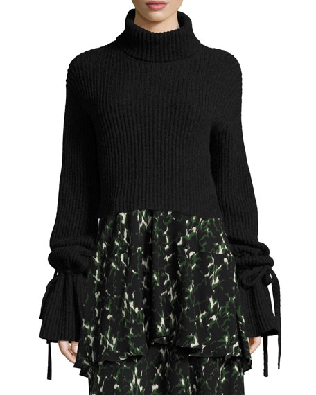 Emille Long-Sleeve Turtleneck Sweater