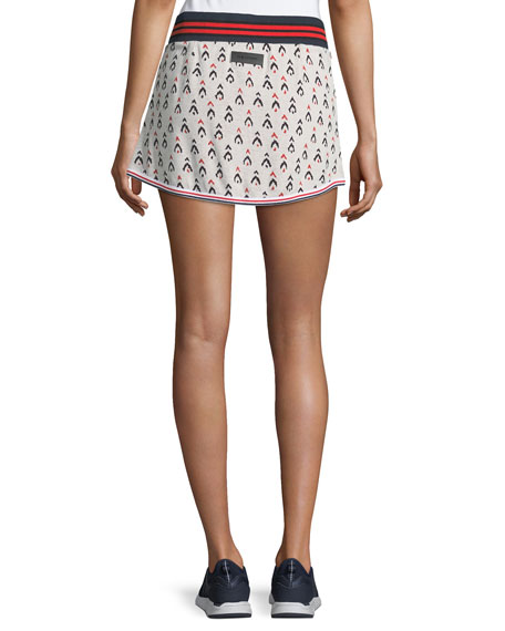 Witch Mountain Knitted Jacquard Tennis Skirt