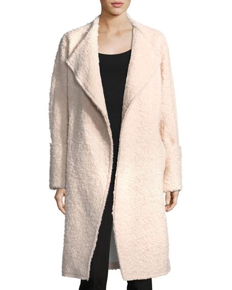 Paloma Wide-Cuffed Wool-Blend Long Coat