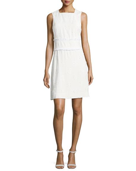 Sleeveless Sheath Dress - White Derek Lam LrzAi73
