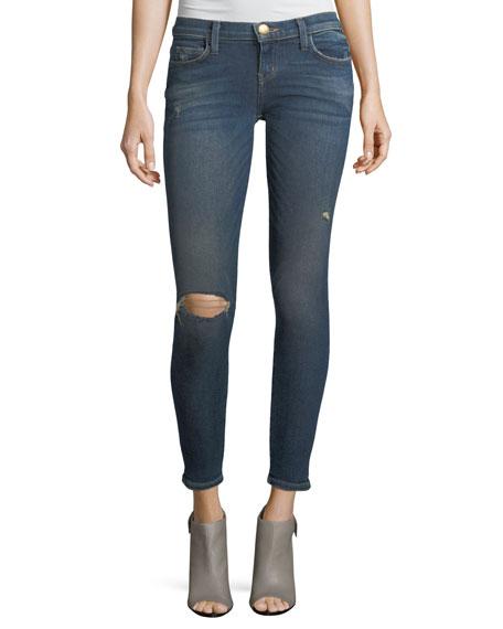 The Stiletto Mid-Rise Skinny-Leg Jeans