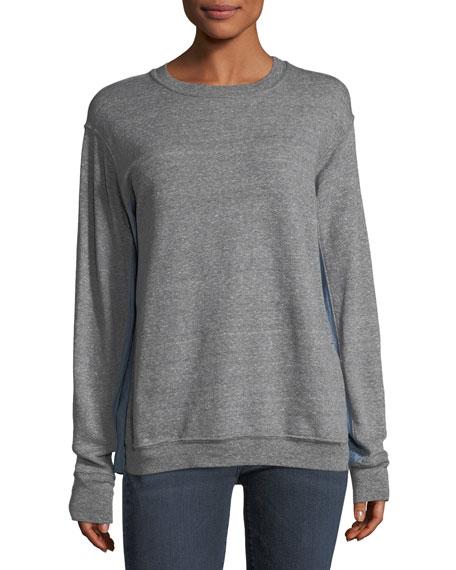 The Duo Crewneck Cotton Sweatshirt