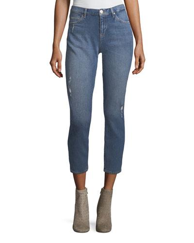 Tomboy Skinny Boyfriend Denim Jeans, Arran