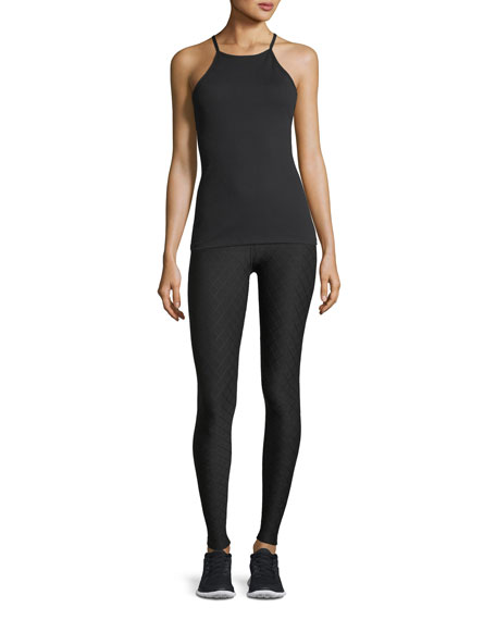 Can't Quilt You High-Waist Long Performance Leggings