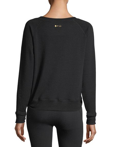 x kate spade new york play hooky pullover sweatshirt