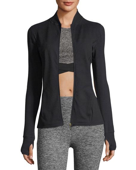 x kate spade new york madison bow long-sleeve jacket