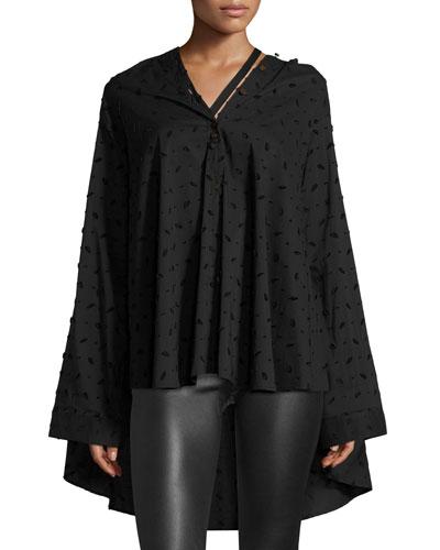 Jasmin Oversized Button-Front Shirt