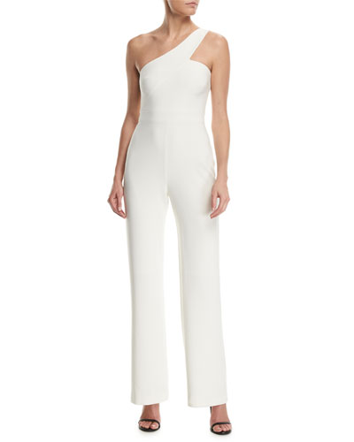 Kelsey One-Shoulder Wide-Leg Jumpsuit