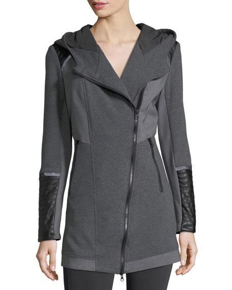 Update Traveler Zip-Front Long Jacket