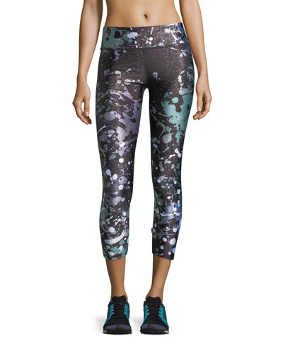 Paint the Town Tall Band Performance Capri Leggings